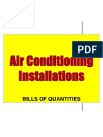 Construction Measurement III Air Condition Split Unit