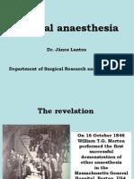 Anaestheesia Surgical Anesthesia