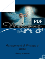 4th Stage of Labour Ppt