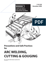 Precautions and Safe Practices for Arc Welding Cutting and Gouging