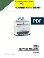 RICOH Aficio-240W Service Manual Pages