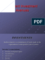 36962972 Unit I Supplementary Info Investment Avenues