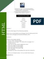 HTML Handout 9 12
