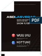 Wuu Jau / Neptune Trading ASD Show Flyer