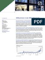 Willkommen in der ZBG-Wirtschaft - DB Research