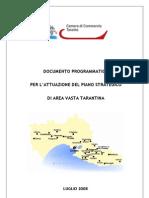 Documento Programmatico Per Area Vasta