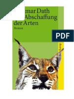 Dietmar Dath - Die Abschaffung Der Arten