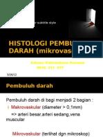Histologi Pembuluh Darah Mikrovascular