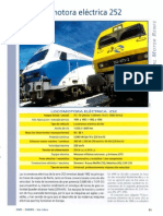 Ficha técnica Locomotora 252 Renfe