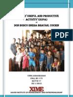 Vipin SUPA Report
