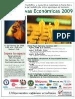 Perspectivas Económicas Enero 2009