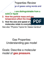 Gas Properties Chemistry Clicker and Discussion Questions