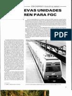Reportaje revista Carril FGC UT111 y UT211