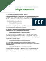 Sistemas de control y sus componentes básicos (Instalaciones Domoticas)