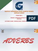 Adverbs, Pronouns