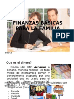 FINANZAS BÁSICAS PARA LA FAMILIA