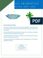Productos BdMax Temporada 2011 2012