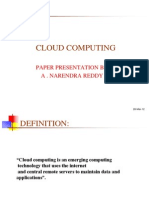 Cloud compting PPT
