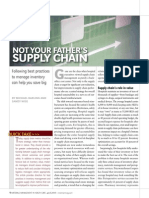 Not Your Fathers Supply Chain