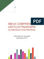 Enquete ADMICAL-Mieux Comp Rend Re Les Flux Financiers Du Mecenat D-Entreprise
