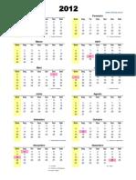 Cópia de calendario
