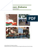 Homegrown Alabama Economic Outreach Programs Report