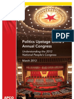 Politics Upstage China's Annual Congress