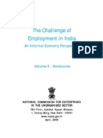 The Challenge of Employment in India (Vol. II)