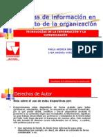 Sistemas de información en el ámbito de la organización