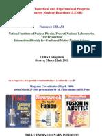 Celani-CERN LENR 3-22-12