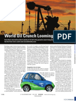 NEWSFOCUS World Oil Crunch Looming? Even Those Who Believe