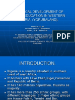 Historical Development of Muslim Education.