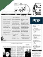 Periódico Pluma y café No. 6