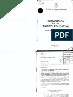 Ministerio de Cultura- Subversion en El Ambito Educativo