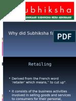 22092135 Why Did Subhiksha Failed