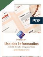 USO DAS INFORMANÇOES EM GESTAO DE SEG PUBLICA SENASP