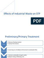 Effects of Industrial Waste on STP