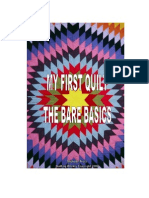 eBook - Sewing - My First Quilt, The Bare Basics - Frost