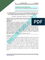 A Comparative Evaluation of Different Membranes Curba Calibrare