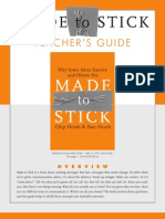 Made to stick - teacher guide