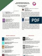 Boletín de Nuevas Adquisiciones, Marzo 2012.