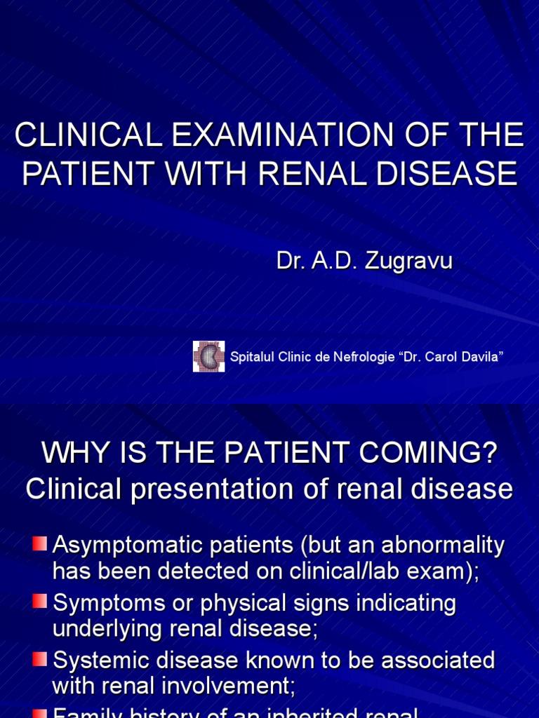 1 ExClinic - Kidney - Kidney Disease - 웹