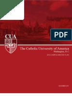 CUA Master Campus Plan Finalized