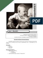 Odontopediatria II
