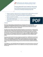 Minnesota 2012 IECC Incremental Cost Memo