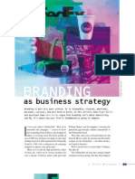 Branding as Business Strategy