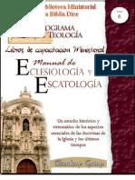 6EclesiologiaEscatologia_ClaudioxpGroup