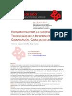 Herramientas Para La Investigacion en TIC - Caso de Estudio