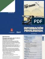 MicroSoft Flight Simulator X - Manual