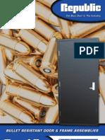 Bullet Resistant Brochure